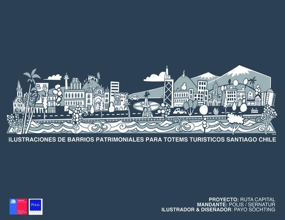 GANADOR ILUSTRACION Proyecto: Ruta Capital Diseñador: Payo Söchting