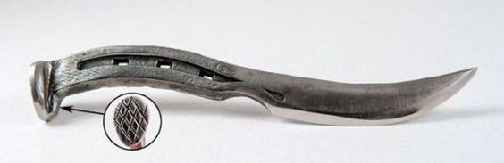 Horseshoe knife