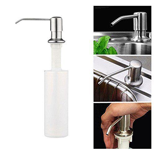 Aolvo Kitchen Sink Soap Dispenser Stainless Steel Pump Di Https