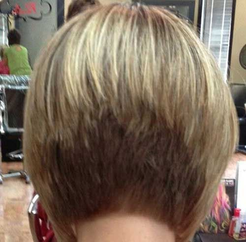 back view short classic layered bob hairstyles pinterest bobs hairstyles and bob back view on pinterest
