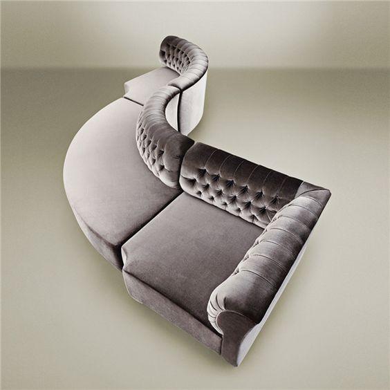 Shape, Tufted Sofa And Modular Sofa On Pinterest
