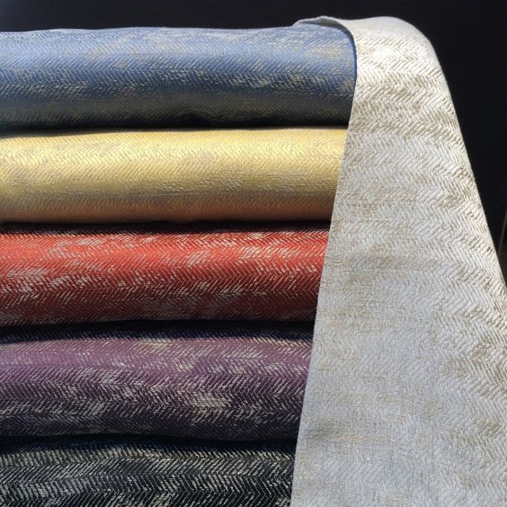 Note for Angela:  Tratten by Leitner - linen woven coverlet in a dozen fantastic colors - not for our use but lovely- have never used linen fabric as bed cover - this would be out of our price point by a mile - but appealing texture on this for discussion