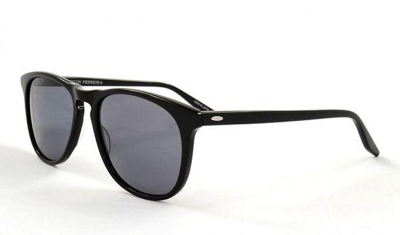 Sonnenbrille von Barton Perreira MAC BLA NOP in schwarz.