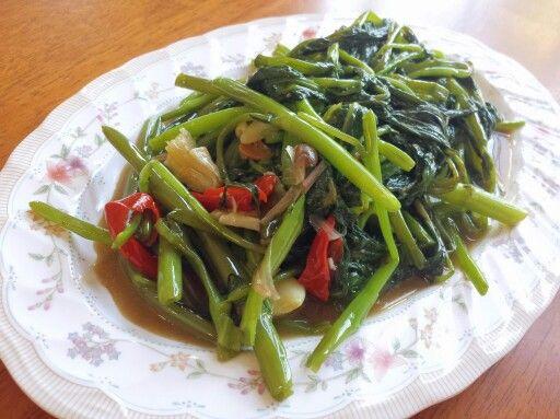 ผัดผักบุ้งจีน