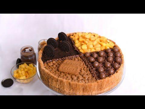 ازاى تعملى احلى كنافه فى الدنيا كنافه الفصول الأربعة باطعمه مختلفه نوتيلا مانجو لوتس اوريو Youtube Food Cooking Breakfast