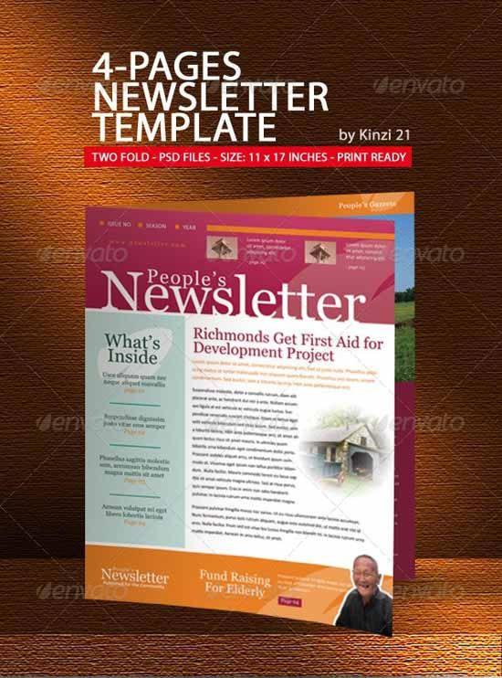 Custom Newsletter For Your Small Business Etsy Shop By Fineprints