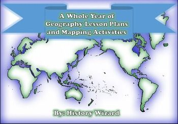 This great lesson plan collection includes 40 mapping activities and Geography…