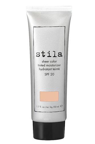 for no-makeup days. stila sheer tinted moisturizer spf 20