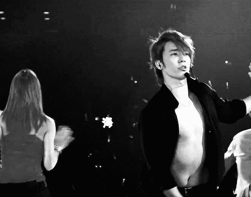 Donghae gif abs