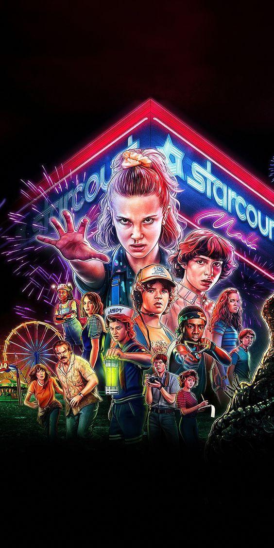 Stranger Things Saison 3 In 2020 Stranger Things Poster Cast Stranger Things Stranger Things Aesthetic