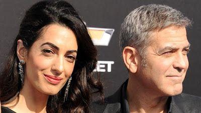 cotibluemos: George Clooney y Amal derrochan simpatía en Ibiza