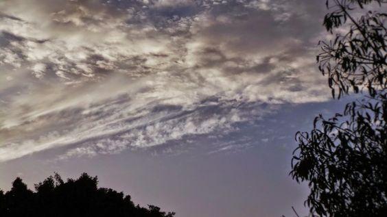 Mirando al Cielo... : Pinceladas ......lindos borrones en el cielo