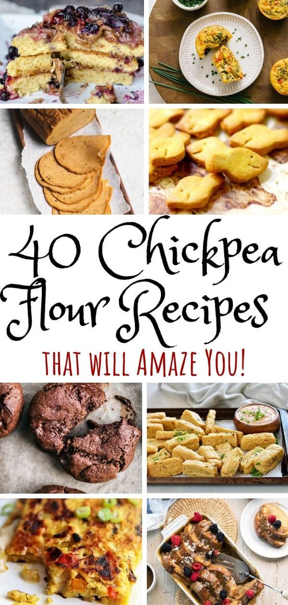 45 Chickpea Flour Recipes That Will Amaze You - The Hidden Veggies