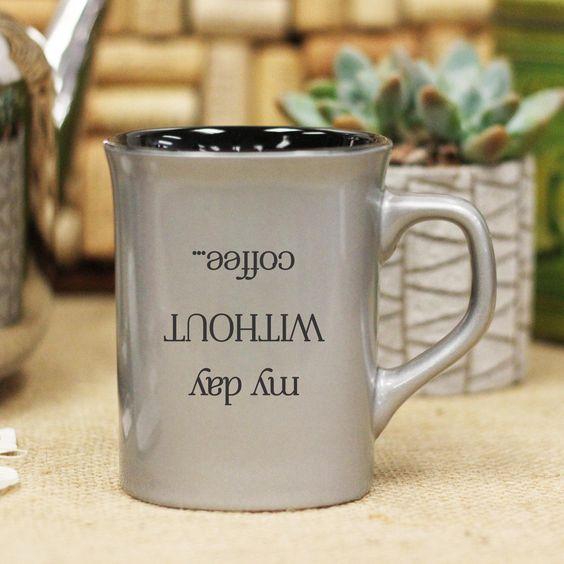 Upside Down Day, Ceramic Mug