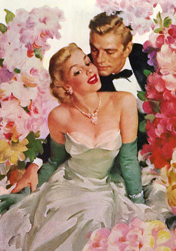The art of love & romance #Illustration #Couples @deFharo