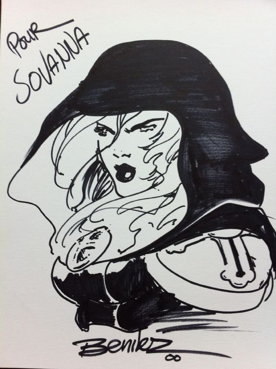 Magdalena by Joe Benitez Comic Art