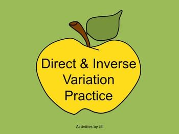Worksheets Printable Direct And Inverse Variation Worksheet With Answer Key student worksheets and puzzles on pinterest make solving direct inverse variations more enjoyable for your students by using this puzzle