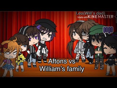 Afton Family Vs William S Family Gacha Life Singing Battle Fnaf Read Desc Important 1 Mill Views Youtube Fnaf Afton Song Artists
