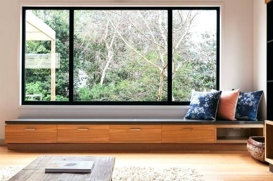 Modern Bay Window Seats Contemporary Design Window Seat Design Modern Window Seat Floor To Ceiling Windows