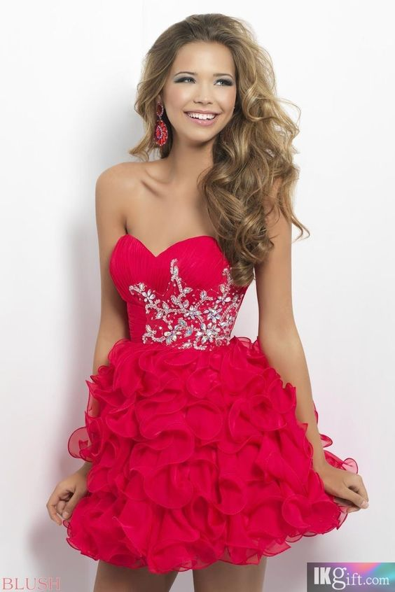 Homecoming Dress: not a big fan of the color but I like how its ...