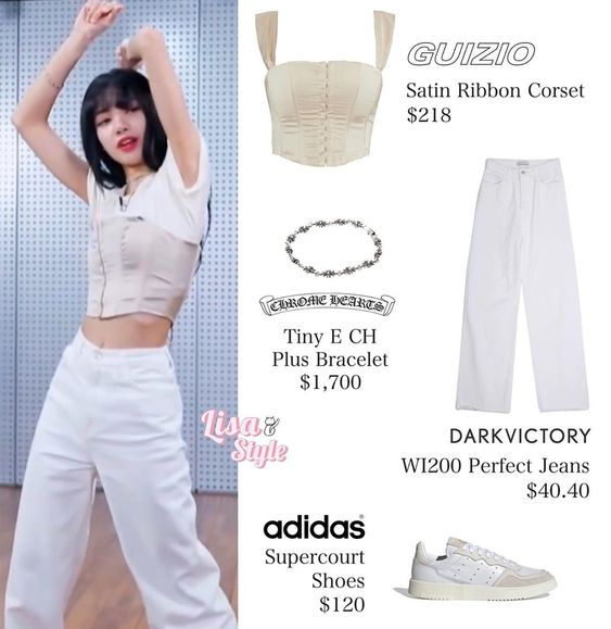 "LISA STYLE on Instagram: ""200416 - Youth With You 2  #LISA #리사 #BLACKPINK #블랙핑크  #LISAstyle ♡"""