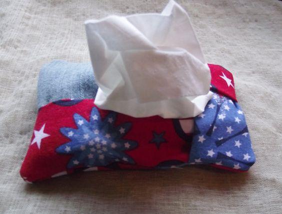 Tissue Cover Travel Size Purse Kleenex Case Cotton Fabric For Bride MOB Gift Reusable pocket tissue cozy teacher hostess gift bridesmaids