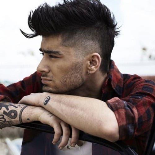 15 Best Zayn Malik Haircuts Hairstyles 2020 Guide Zayn Malik Hairstyle Faux Hawk Hairstyles Hair Styles