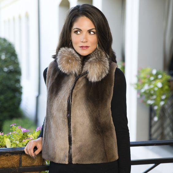 Fur Coats for Women from Henig Furs | Fur Coat Ideas | Pinterest