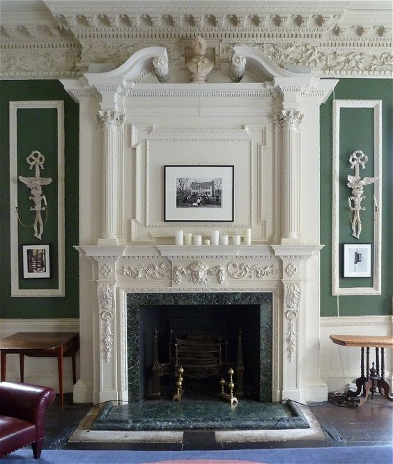 Great Fireplace Home Decor