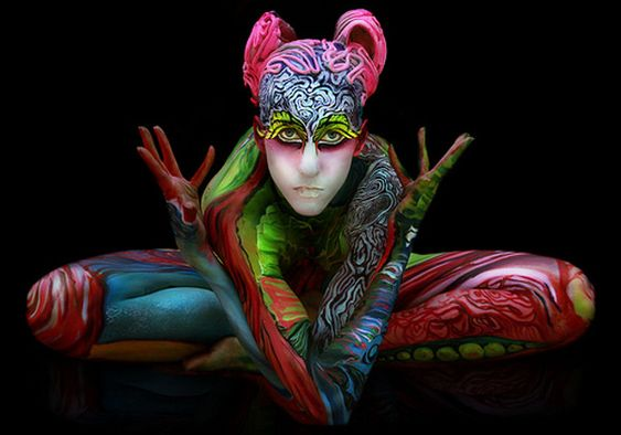 Festival Mundial 2013 body painting
