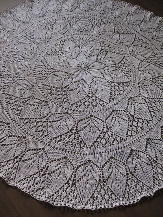Knitting Pattern For Lace Tablecloth : Pinterest   The world s catalog of ideas