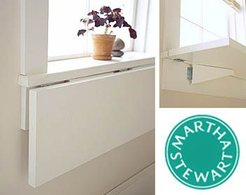 Need more space?  Expand your window sill.