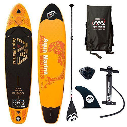 AQUA MARINA FUSION SUP inflatable Stand Up Paddle  Board Sport Paddel