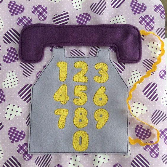 telefone prontinho, você já pode ligar pra encomendar seu #livrosensorial ☎️📚🔢 #michelestahl #brinquedoeducativo #baby #bebe #brinquedo