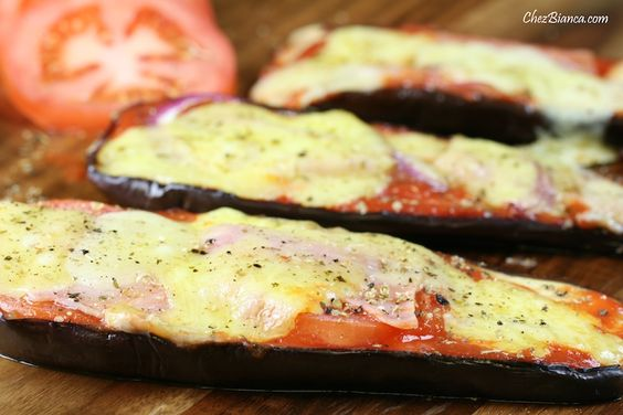 Pizza de berinjela « chezbianca