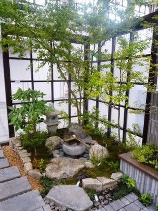 48 Adorable Japanese Courtyard Decor Ideas To Have Asap In 2020