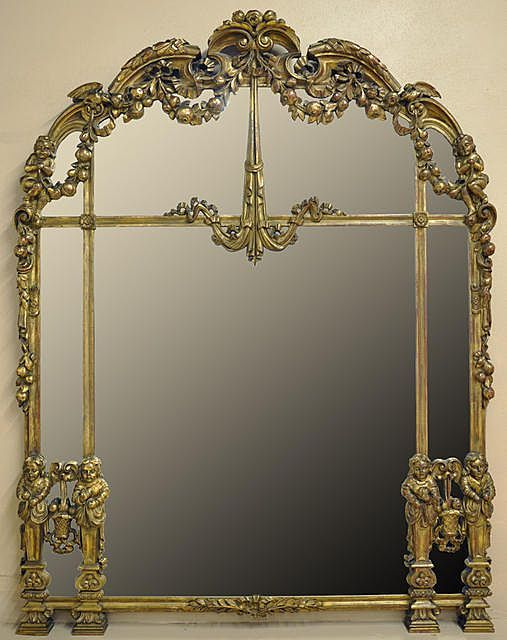 Carved Gilded Mirror
