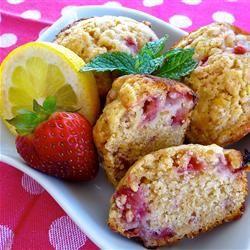 Strawberry Lemon Muffins Allrecipes.com