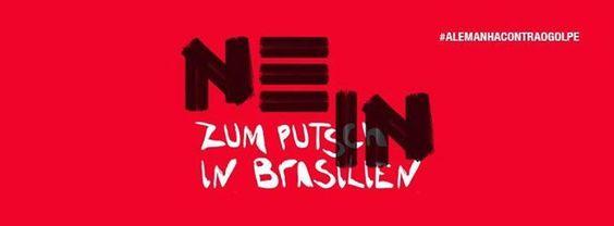 Gegen den Putsch in Brasilien