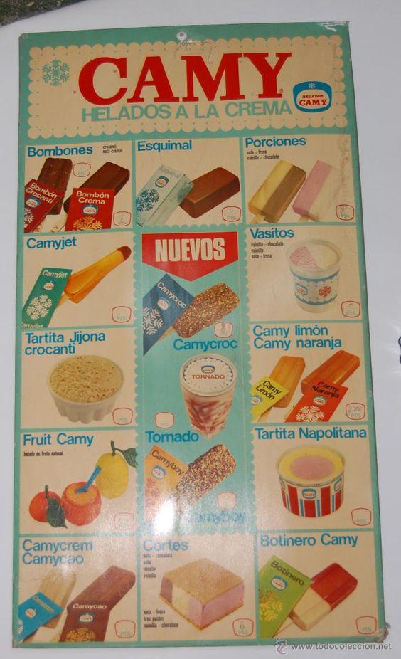 Helados Camy año 1971                                                                                                                                                     Más:
