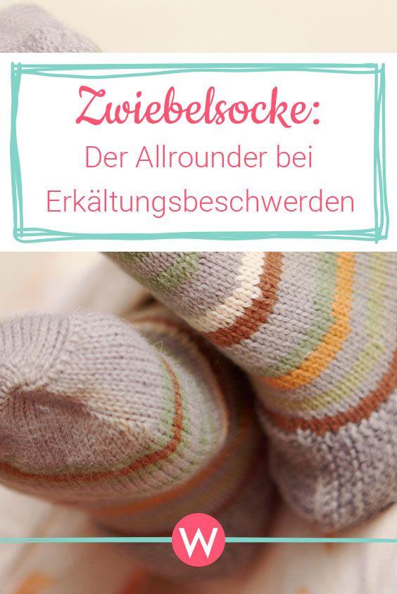 Die Zwiebel Als Heilmittel Zwiebelsockchen Zwiebel In Socke