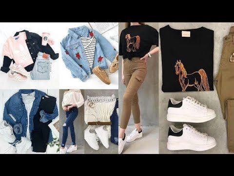 ملابس بناتية 2019 تنسيقات ملابس بناتية تجعلك في غاية الأناقة Youtube Fashion Bff Sneakers