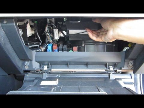 How To Replace Cabin Air Filter Honda Element Youtube Cabin Air Filter Honda Element Cabin Filter