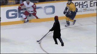 Melhor jogador de hockey do mundo!