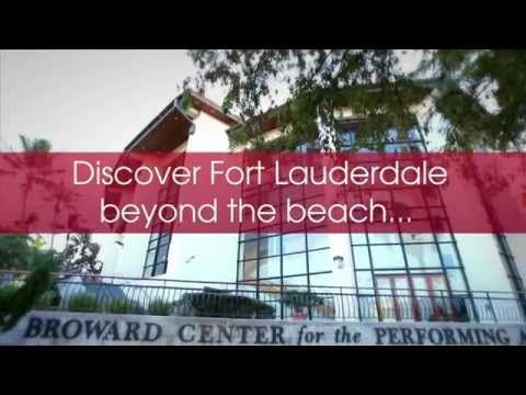 Discover Fort Lauderdale...beyond the beach...theatre and art, family and festivals, history and opera, in a word...Amazing!
