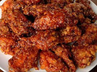 Resep Ayam Goreng Korea Simple Tanpa Gochujang Resep Ayam Makanan Dan Minuman Masakan Korea