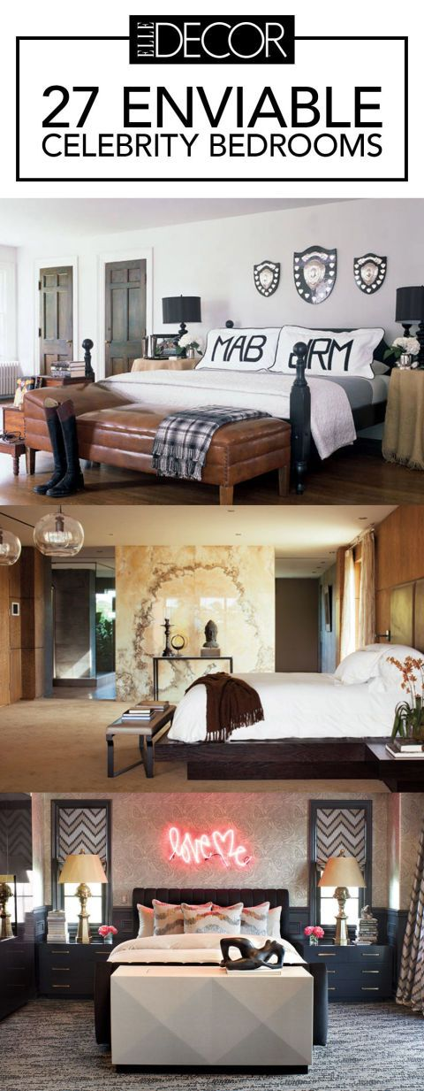 Of The Most Enviable Celebrity Bedroom Designs Bedrooms And - Design on a dime ideas bedroom