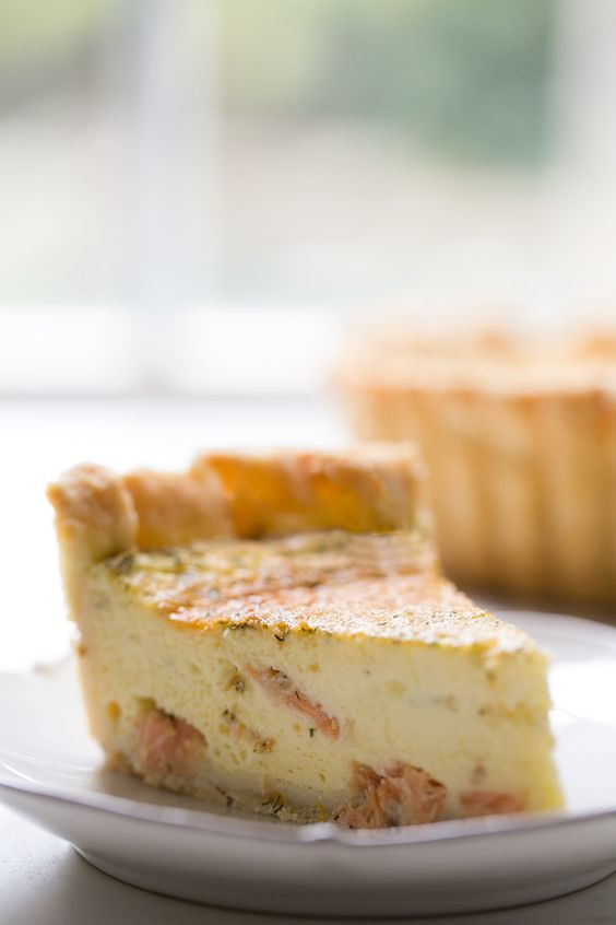 ... goat cheese quiche recipe salmon sounds great crusts pies cheese fresh