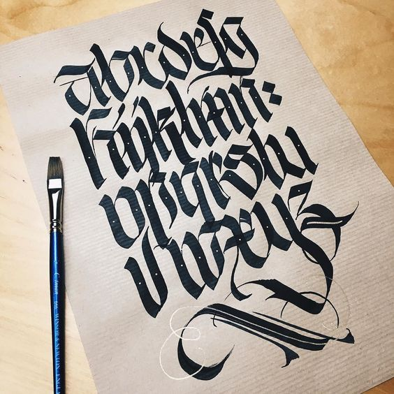 Script Lettering Art And Calligraphy On Pinterest
