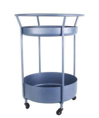 Corona Ablage Stahl Xl Boom Azurblau Wohnzimmer Tisch Weiss Couchtisch Rund Beistelltisch Glas